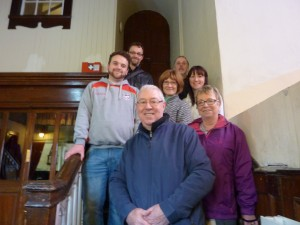 The volunteers at St Anne's, Shandon