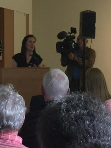 Fiona Kearney at launch of Boolean Expressions courtesy Marian McCarthy