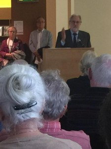 Lord David Puttnam launching Boolean Expressions courtesy Marian McCarthy
