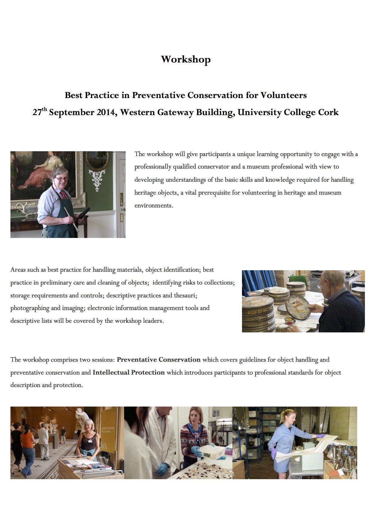 Volunteering Workshop Programme p2