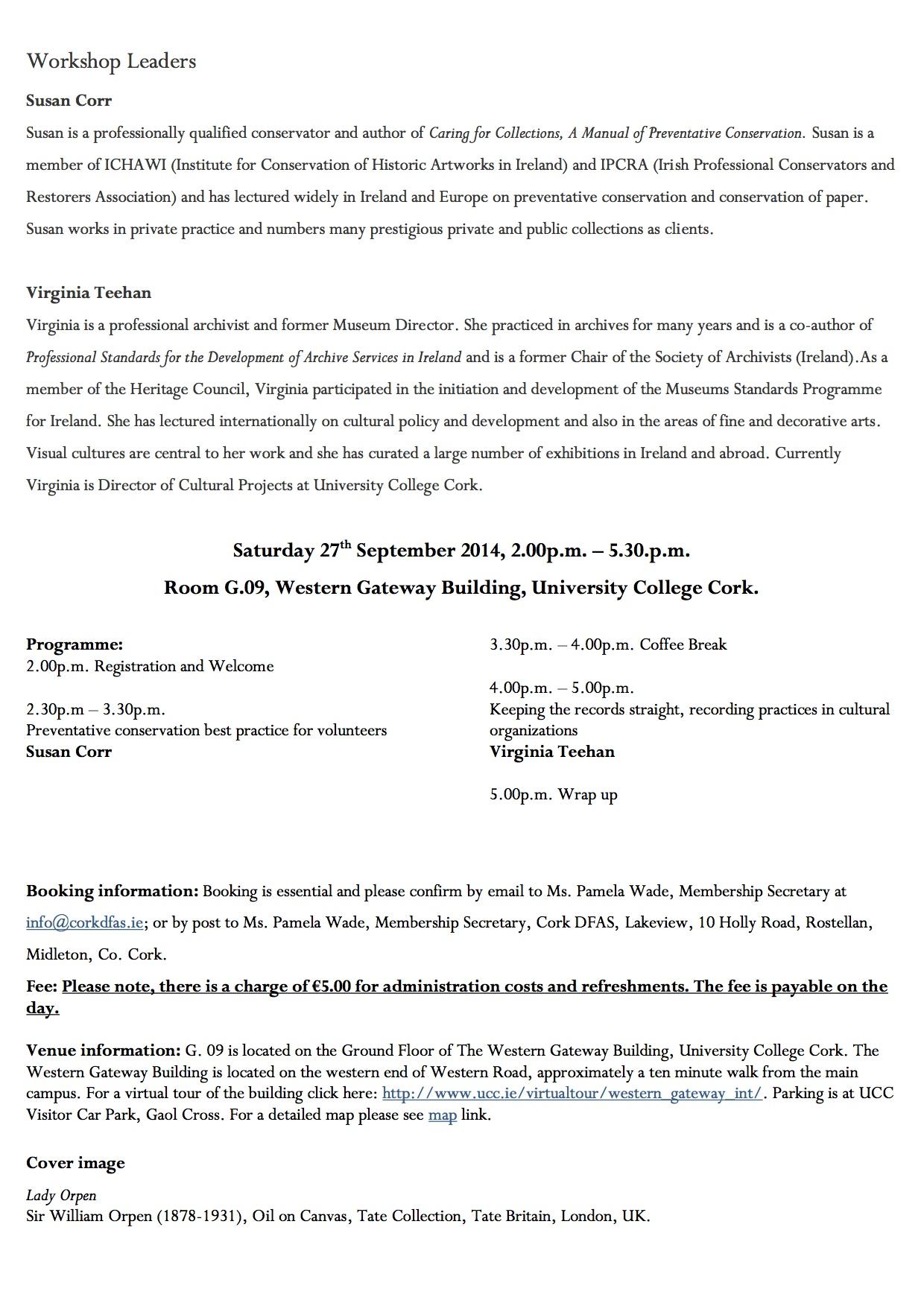 Volunteering Workshop Programme p3