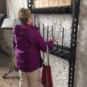 Playing the bells at St Anne's