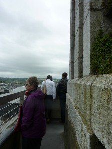 Fine views from the top of St Anne's