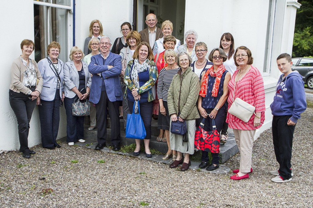 Members and their guests at Rockrohan House