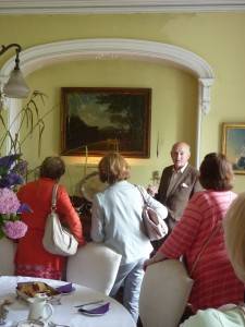 In the Dining Room before tea