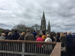 Elizabeth Fort CorkDFAS Excursion 17:04:2016 with St Fin Barre's